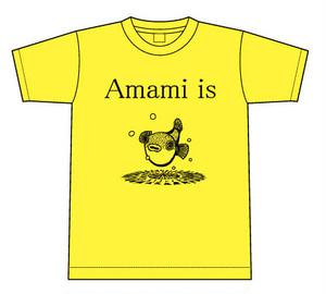 Amami is 星空ふぐ Tシャツ