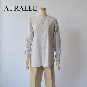 AURALEE/オーラリー ・Washed Finx Twill Shirts