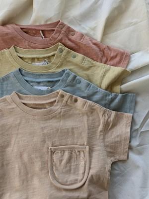 オーバーダイベビーポケットTシャツ