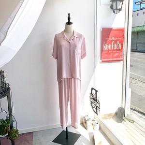 パジャマ  ピンク
