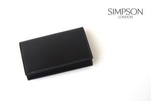シンプソン ロンドン|SIMPSON LONDON|キーケース|コードバン|ブラック