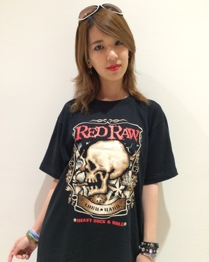 RED RAW Tシャツ