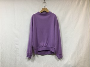 "MY__ "" BOTTLE NECK SWEAT "" PURPLE"