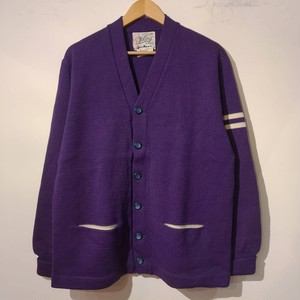 50~60's Whiting low gauge cardigan
