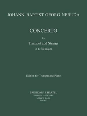 ネルーダ:トランペットと弦楽のための協奏曲 変ホ長調/トランペット・ピアノ