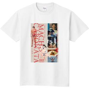 【劇場物販あり】『強がりカポナータ』Tシャツ(B)ホワイト
