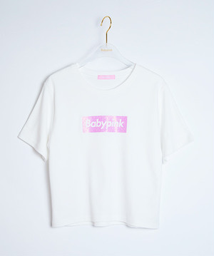 Box Logo S/S Tee White