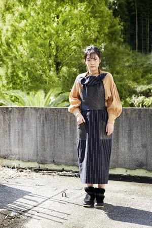 Kakishibu Apron Skirt