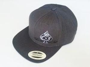 SCJ Spade Hat  【Charcoal】