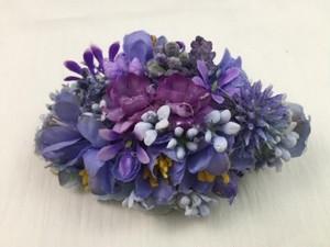 お花の髪飾り2