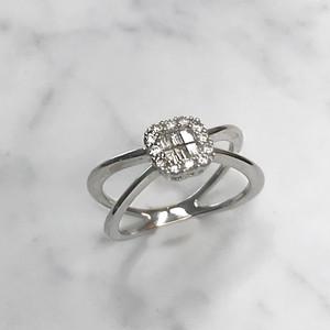 jewelG リング K18/ダイヤモンド