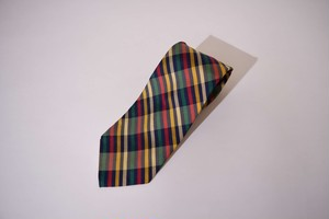GIEVES& HAWKES NECKTIE ネクタイ YELLOW/RED/GREEN 400617190505