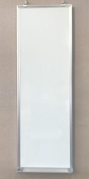 WH0903 細長い縦長のホワイトボード 縦90cm×横30cm|狭い壁面用