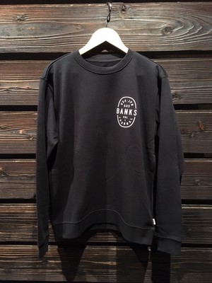 Banks Journal  POWERS CREW  AFL0259  D.Black Mサイズ