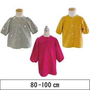 七分袖のボリュームチュニック 80-100