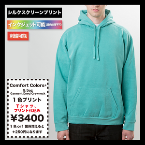 Comfort Colors Garment Dyed Hooded Sweatshirt (品番CC1567)
