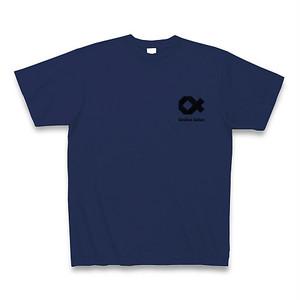 Online Salon Tシャツ|ジャパンブルー