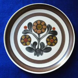 DENBY- LANGLEY Mayflower お花模様のお皿 径16cm