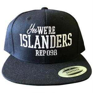 We Are ISLANDERS SNAPBACK CAP / LIFEdsgn