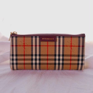 BURBERRY Check Pattern pouch -Dead Stock!-
