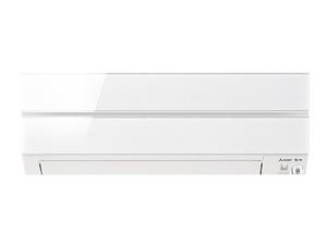 三菱 【エアコン】おもに18畳用 Sシリーズ 電源200V (パウダースノウ) MSZ-S5618S-W
