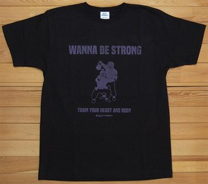 gym master WANNA BE STRONG Tee ジムマスター Tシャツ ブラック 酔拳 DRUNKEN MASTER カットソー 半袖 G280675