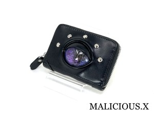reptiles(A) eye card case / violet