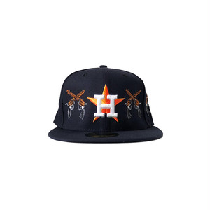 Exile World Custom New Era Houston Astros COLT 45. Fitted (JUGE Exclusive)