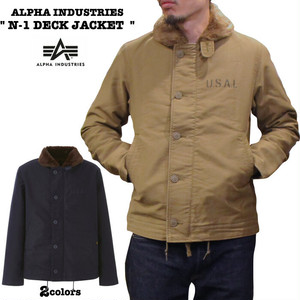 "TA1395  ""N-1 DECK JACKET"" 19FW ALPHA INDUSTRIES / アルファインダストリーズ"