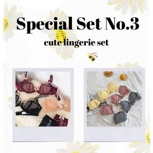 【Special Set No.3】キュートランジェリーセット BLS006