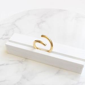 ■spiral ring -gold-■ スパイラルリング ゴールド