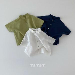 mamami / ブルメールリネンシャツ