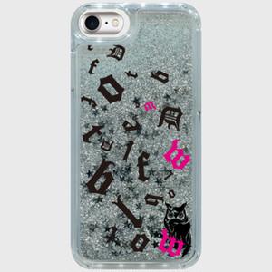 iPhone case シルバースター パズルロゴ&フクロウ iPhone6/6s/7/8対応