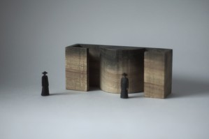 (031)wood figure-mini &structure 箱入 015