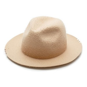 "SAY! / セイ!| 【SALE!!!】 "" PILLING WOOL WIDE BRIM HAT "" - Beige"