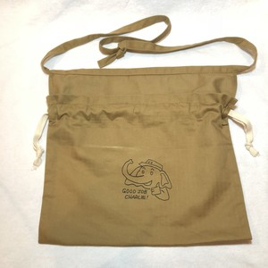 "3-Way Red Cross Bag, Khaki ""Good Job Charlie"""