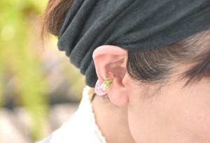 【春限定】サクラ咲く春の散歩道【片耳】イヤーカフ