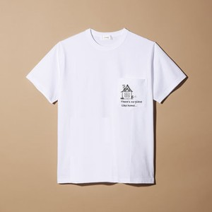 there's no place like home pocket T-shirt