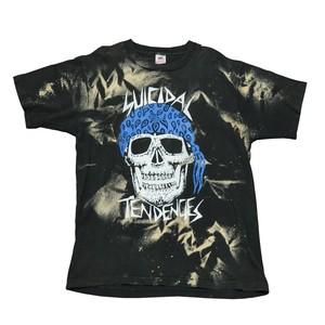 【SUCIDAL】ブリーチバンドTシャツ