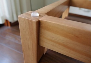Nordic Walnut Nest Glass Table / 北欧ナチュラルスタイル 北欧 ウォールナット ネストガラステーブル