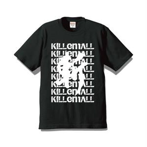 【斬る'em ALL】デザインTシャツ BLACK(送料込み)