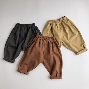 -Balloon Loose Fit Cotton Pants-