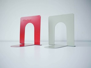 Book End M Red & Grey