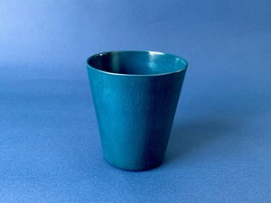 【Snow blue】青漆タンブラー(マロニエ)漆器