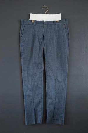 old park slit pants slacks