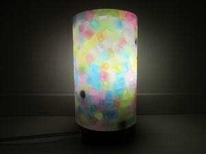 ランプシェードキャンドル モザイクキャンドル 専用ランプ付き