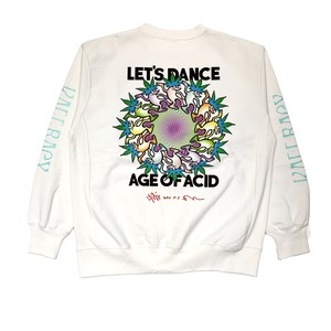 【THE DAWN B】Let`s Dance Sweat-WHITE