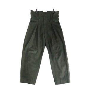 YOHJI YAMAMOTO POUR HOMME HIGH WAIST WIDE TROUSERS