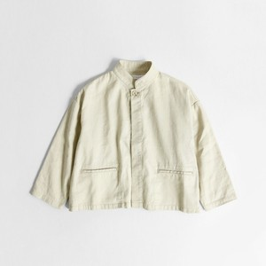 【SETTO】 CROPPED JACKET (beige) セット クロップドジャケット