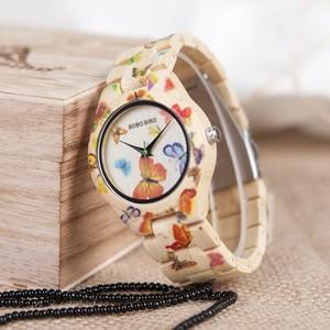 BOBOBIRD レディース木製時計